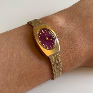 Vintage 70s Brass Watch Seiko